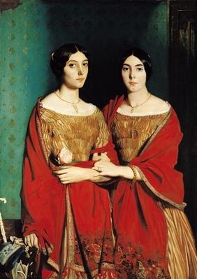 The Two Sisters, or Mesdemoiselles Chasseriau: Marie-Antoinette-Adele