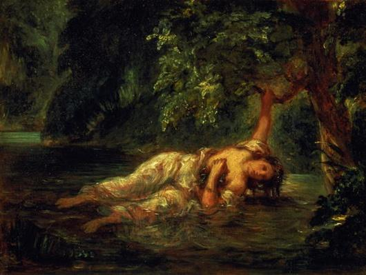 The Death of Ophelia, 1844