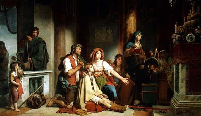The Prayer to the Madonna, 1831