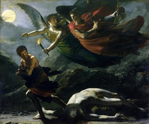 Justice and Divine Vengeance pursuing Crime, 1808