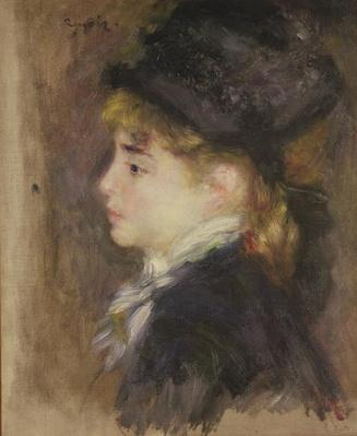 Portrait of a woman, possibly Margot, c.1876-78