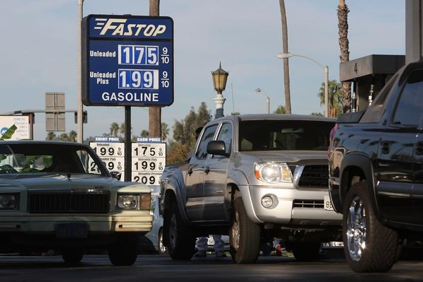 Survey Finds That Average National Cost Of Gas Drops Below $2/Gallon | The Study of Economics