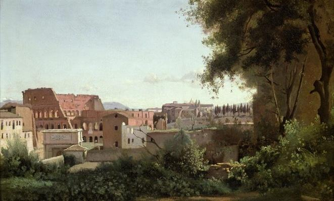 View of the Colosseum from the Farnese Gardens, 1826
