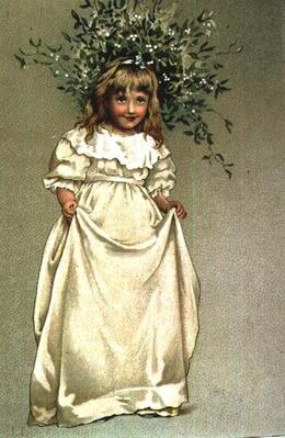 Under the Mistletoe, 19th century