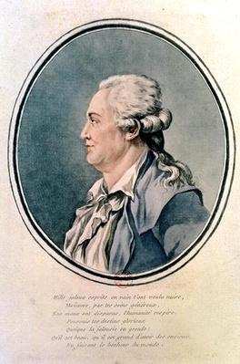 Portrait of Franz Anton Mesmer
