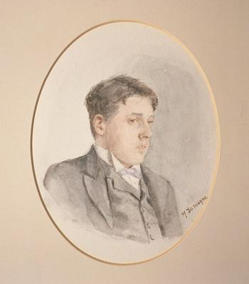 Portrait of Arnold Bennett