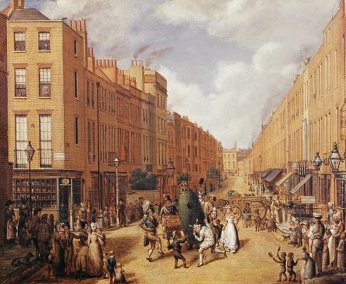 Upper Lisson Street near Paddington, c.1837