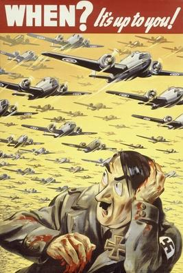 20th-century war propaganda poster | The Evolution of Military Aviation