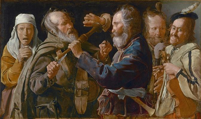 The Beggars' Brawl, c.1625-30