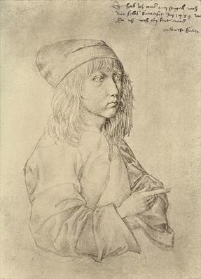Self portrait at the age of thirteen, 1484