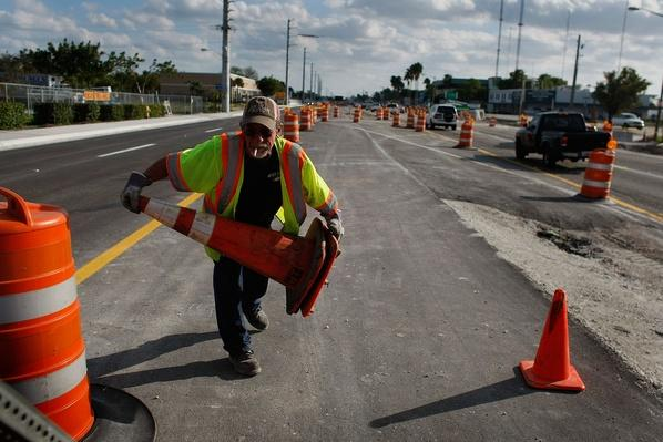 Construction Crews Work On FL Road Projects, As State Eyes Stimulus Relief | Human Impact on the Physical Environment | Geography