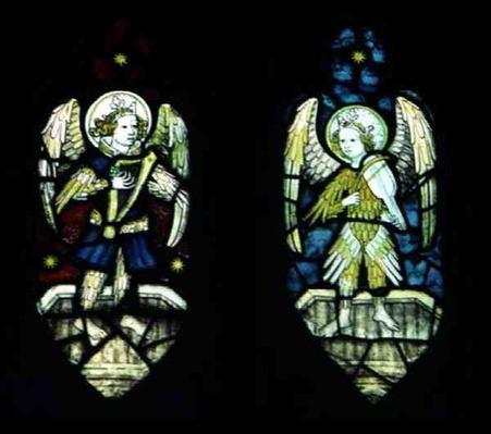 Angels, by Norwich School, 15th century