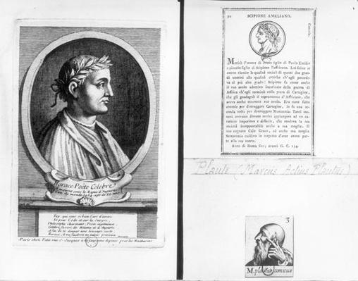 Portraits of Horace
