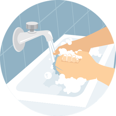 Washing Hands with Soap | Health and Nutrition