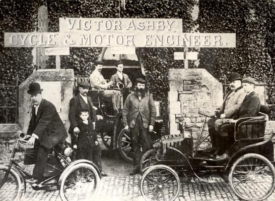Ashby Garage | Evolution of the Automobile