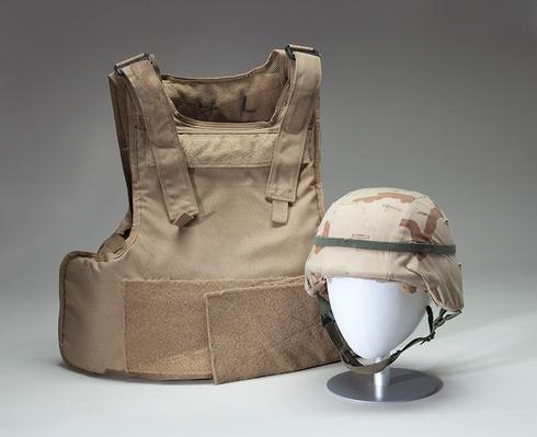 Armored Jacket and Helmet, Iraq