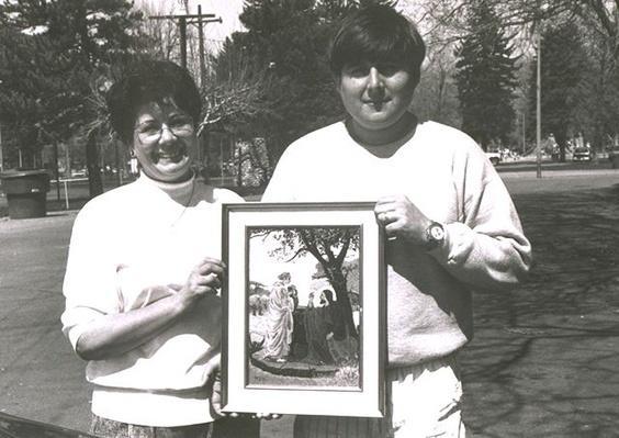 Hispanic Culture in Utah: Hecho en Utah (Made in Utah): J. Zumaeta and Son, With Her Needlework