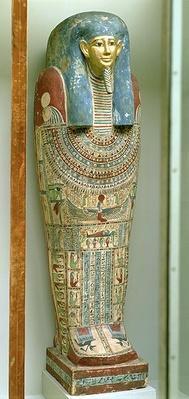 Inner coffin of Djeho, son of Psammetichus, from Akhmim, c.250 BC