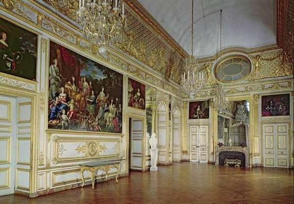 Interior of the Salon de l'Oeil de Boeuf, c.1710-15