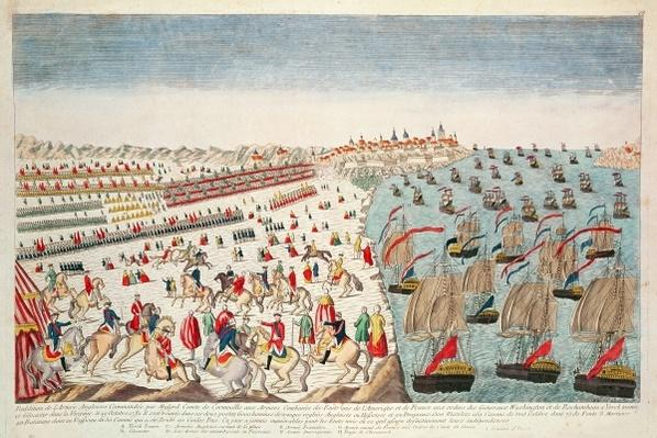 The Battle of Yorktown, 19th October 1781