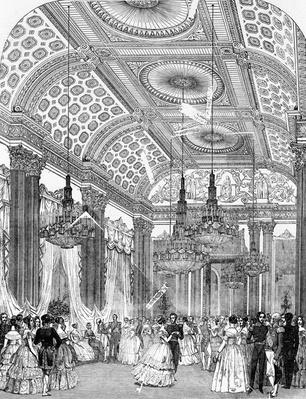 Polka Dance at a state ball at Buckingham Palace, 1848