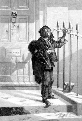 Chimney Sweep on the Morning Call,1853