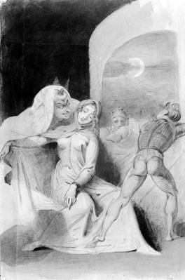 Illustration from the Faust,19th Century