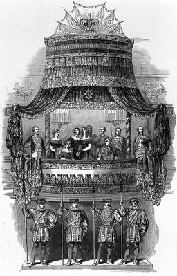 Her Majesty's State visit to the Royal Italian Opera, Covent Garden, 1848