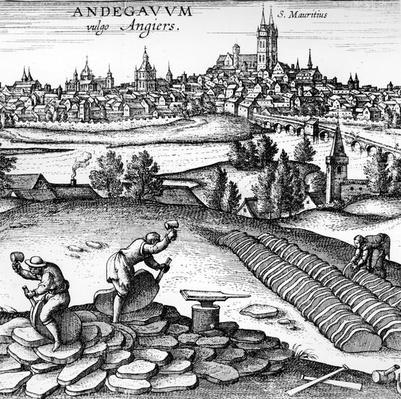 Andegavum vulgo Angiers , 1598
