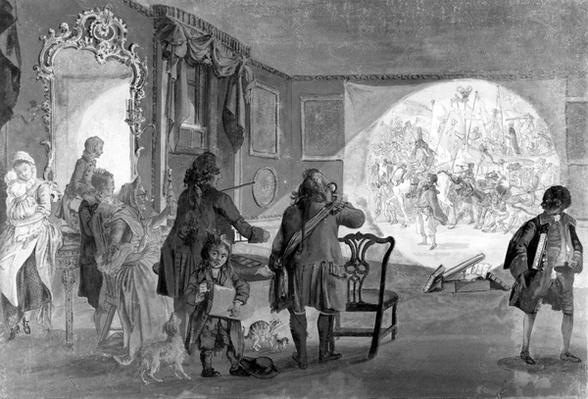 The Magic Lantern, 1730-1809