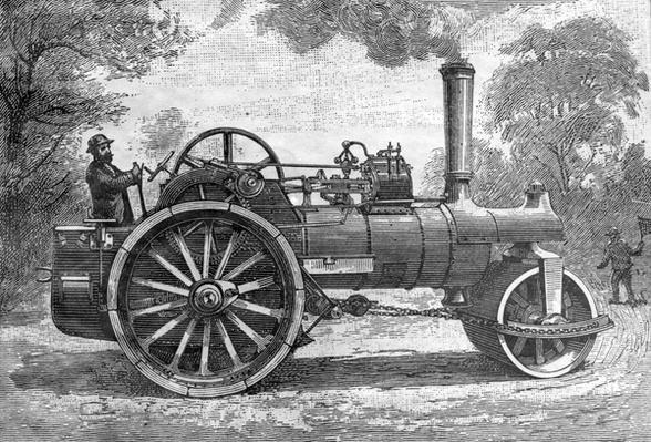 Machine Routiere, taken from 'Science Illustr�', 1891