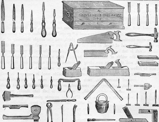 Gentleman's Tool Chest no.6, 19th Century