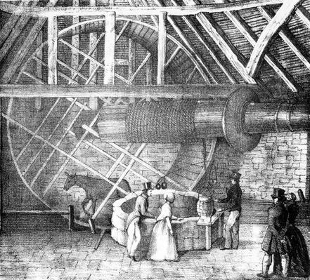 Well hoist and Donkey, 19th Century