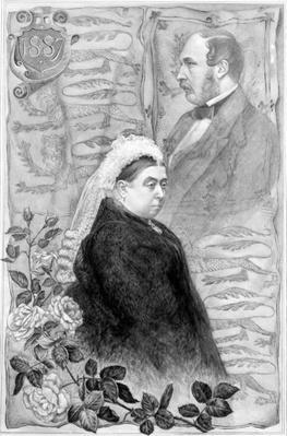 Queen Victoria's Golden Jubilee, by Henry William Batley, 1887