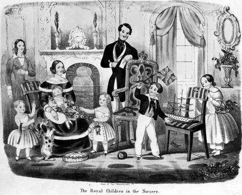 The Royal Children in the Nursery, by T. H. A. E., 1847
