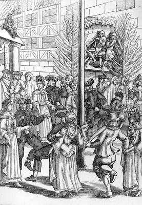 The Chimney Sweep Dance, 17th Century