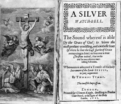 A Silver Watch Bell, print by Thomas Tymme, 1617