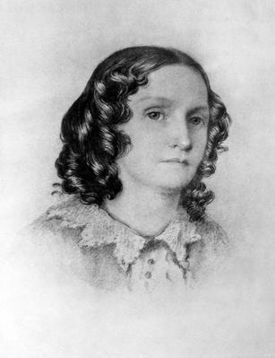 Mrs. Jenkin, from a sketch taken by her son at Genoa, 19th Century
