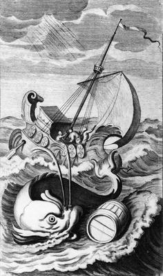 "Illustration taken from ""A Tale of Tub"", engraved by John Sturt, 1704"