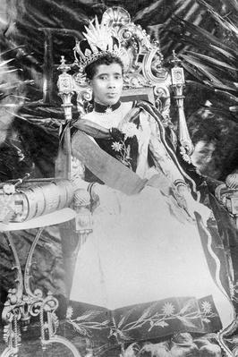 Queen Ravanalona III, circa 1890
