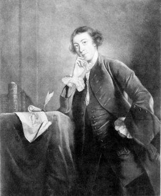 Horace Walpole, by James McArdel after a portrait by Joshua Reynolds, 18th Century
