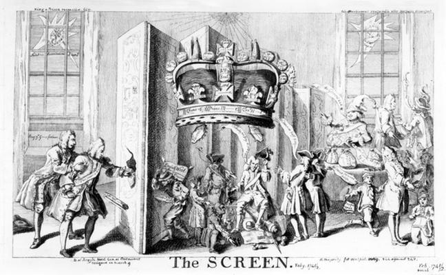 The Screen, 1742