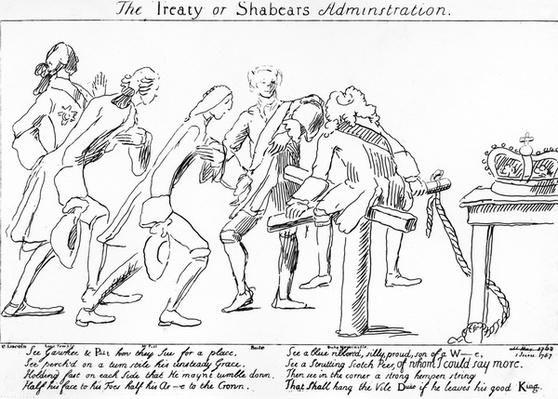The Treaty og Shabears Administration, circa 1757