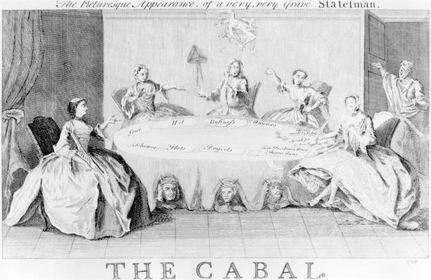 Cabal: The Picturesque Appearance of a Very, Very Grave Statesman, circa 1745