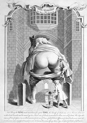 Idol -Worship or the Way to Preferment, 1740