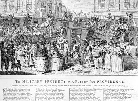 The Military Prophet, or a Flight from Providence, 1750