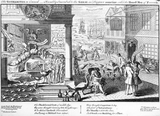 The Gothamites in Council, 1761