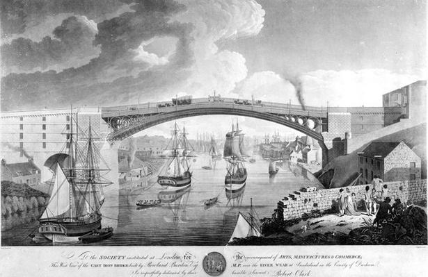 The Cast Iron Bridge, 1796-1798