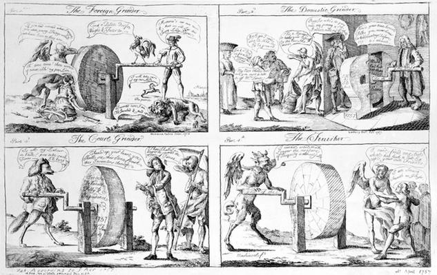 The Foreign Grinder, 1757