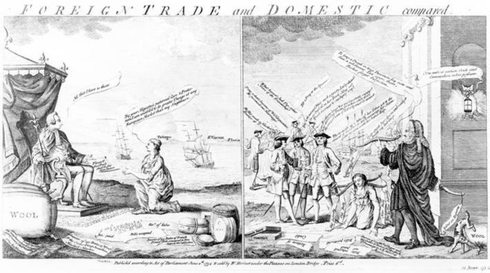 Foreign Trade and Domestic Compared, by William Herbert, 1754